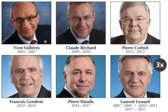 8 ministres