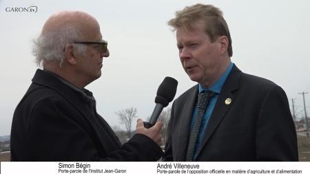 Simon Bégin et André Villeneuve