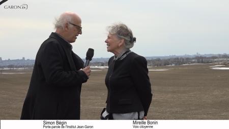 Simon Bégin et Mireille Bonin