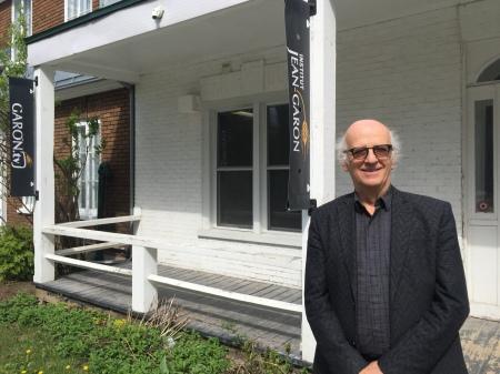M. Simon Bégin, membre fondateur de l'Institut et porte-parole de l'organisme.