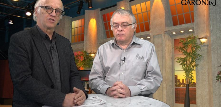 Simon Bégin et Yan Turmine