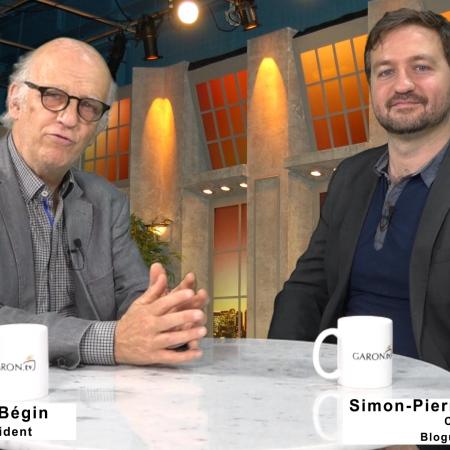 Simon Bégin et Simon-Pierre Savard-Tremblay