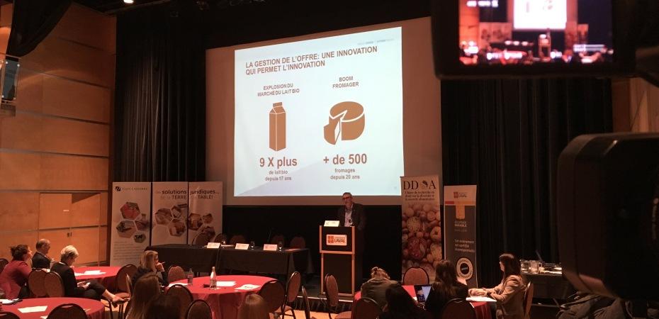 3e édition du Colloque canadien en droit et politiques publiques agroalimentaires, qui se tiendra à l'Université Laval du 25 et 27 septembre 2018