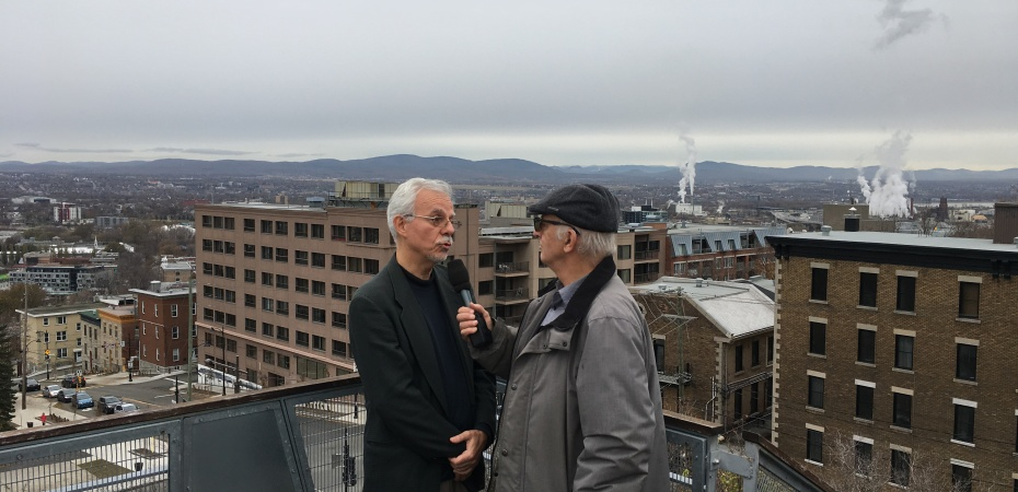 Hubert Lavallé et Simon Bégin