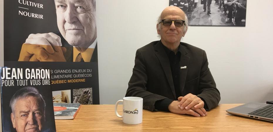 Le président de l'Institut Jean-Garon, Simon Bégin