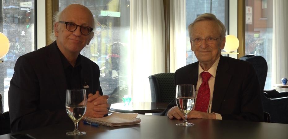 Simon Bégin et Claude Béland