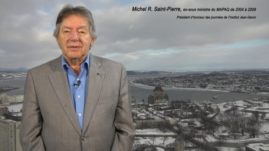 Michel Saint-Pierre, président d'honneur du 40e anniversaire de la LPTAQ et ancien sous-ministre au MAPAQ de 20004 à 2008