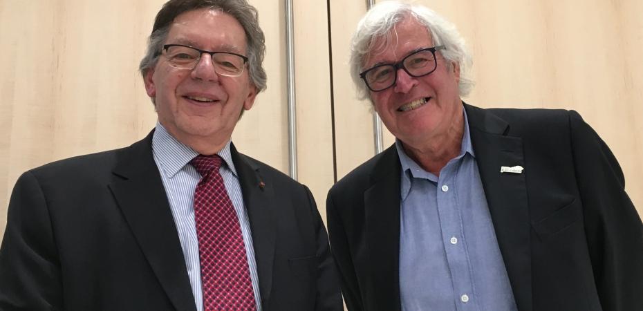 Michel Saint-Pierre et Guy Debailleul