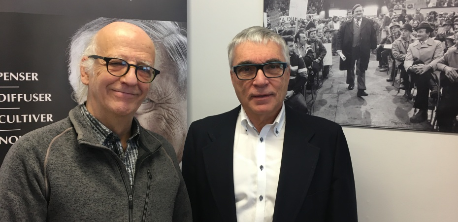 Simon Bégin et Emmanuel Garon